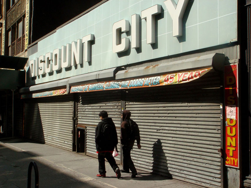 Discount City, New York
